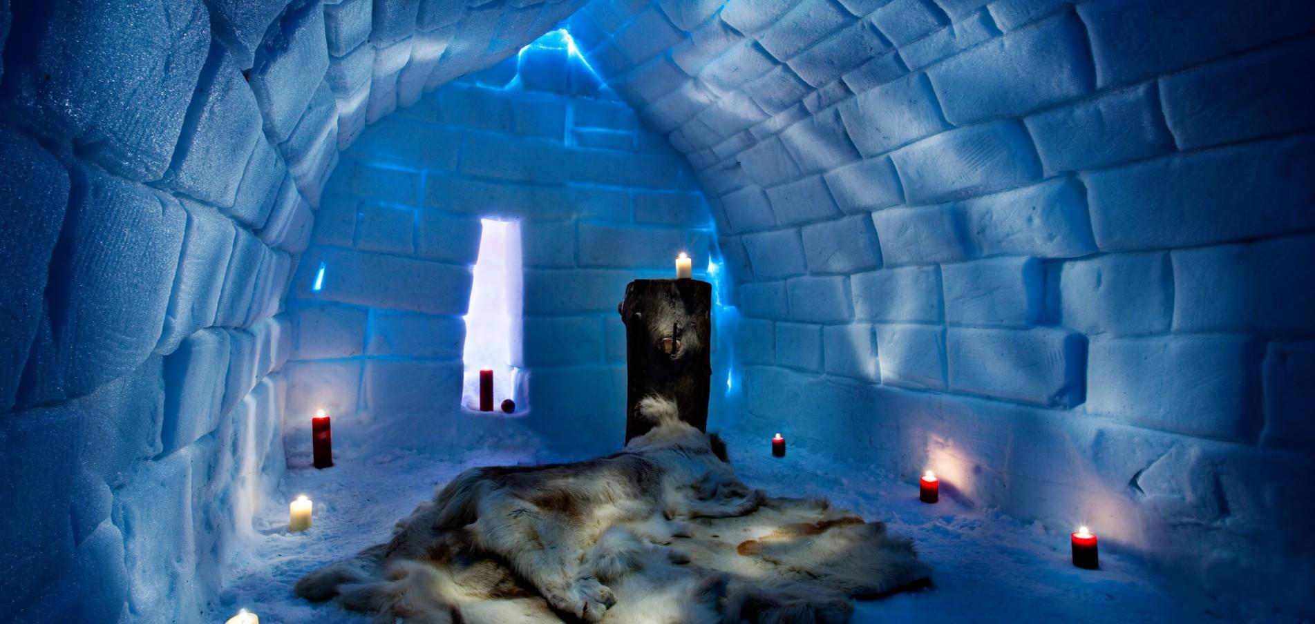 Lappland Incentive  Welcome Winter Wonderland: Snowmobile-Safaris, Eishotel und Eisbrecher - Action pur!