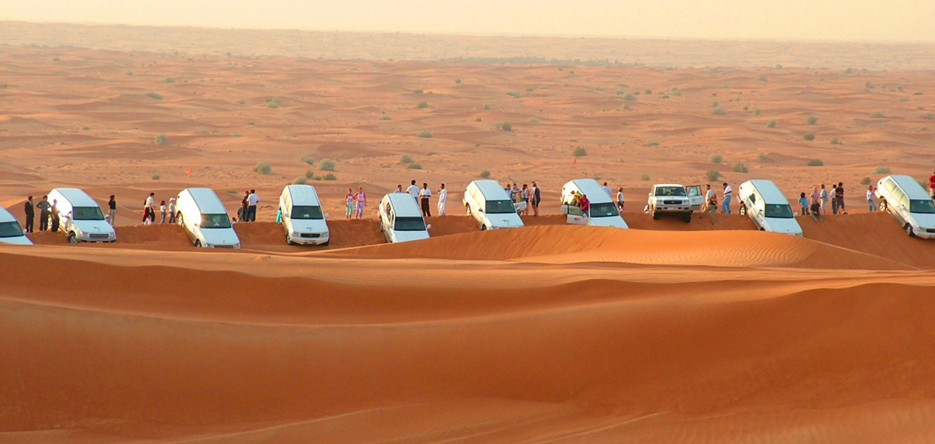 Dune Bashing Action ohne Ende – Desert Safari Dubai.