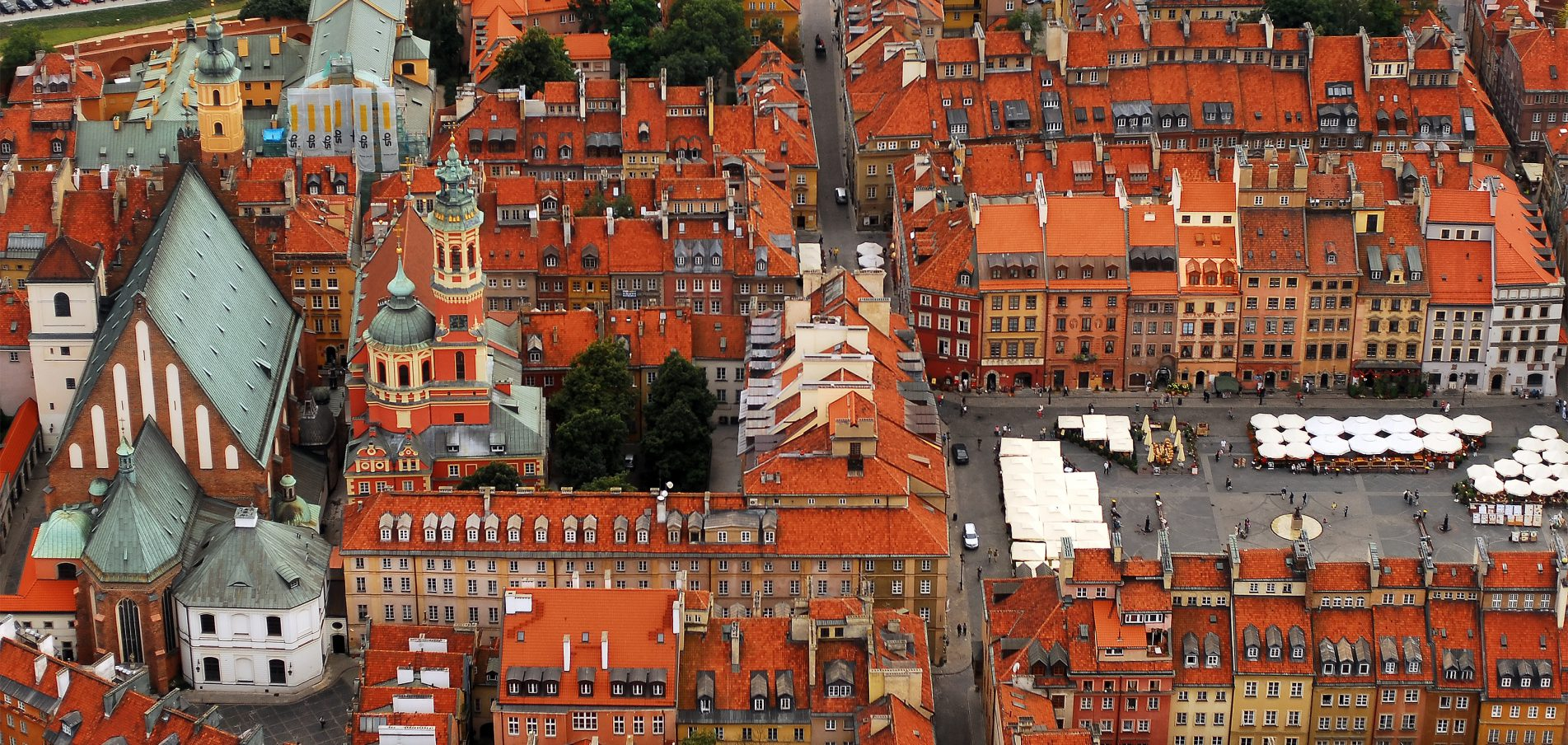 ...die größte Stadt Polens!