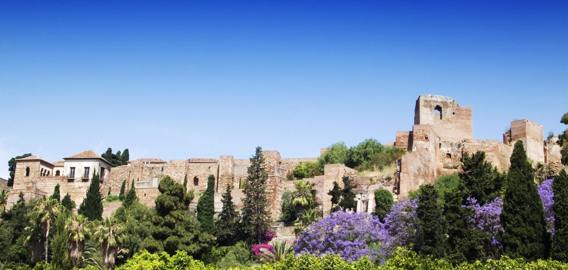 LA ALCAZABA ... Malagas imposante Festung!