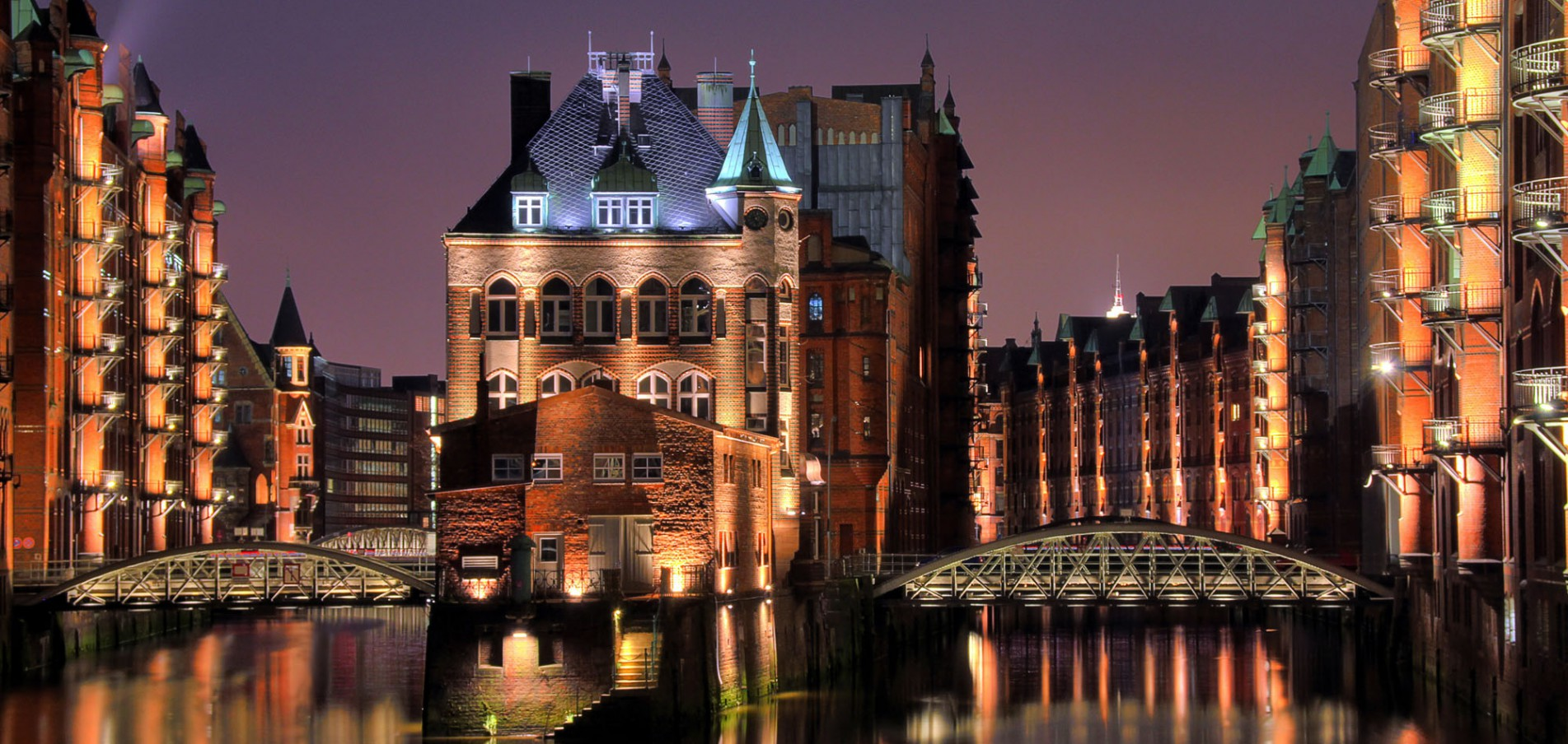 Die historische Speicherstadt ... seit Juli 2015 Unsesco-Weltkulturerbe!