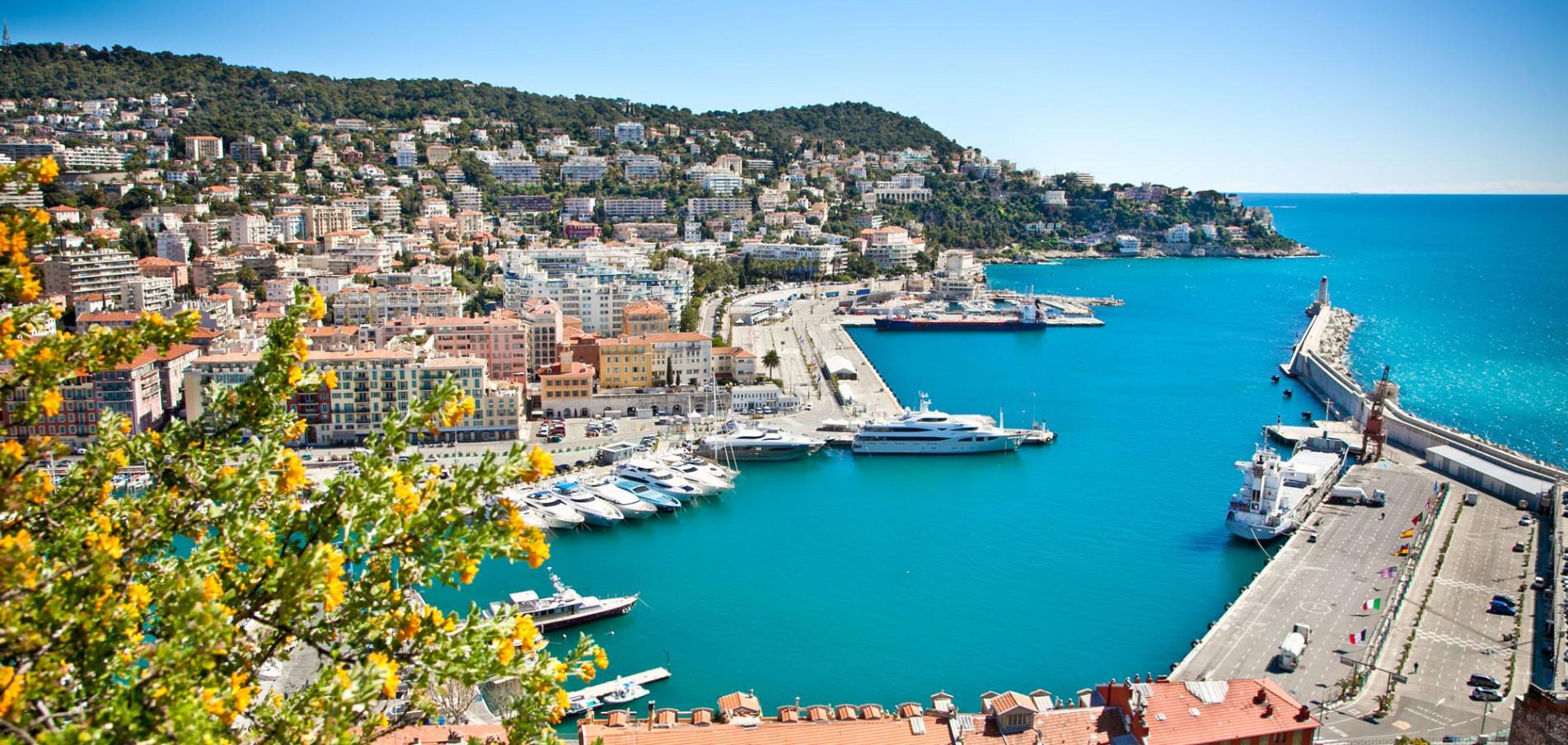Willkommen in Nizza ... Hafenstadt im Südosten Frankreichs!