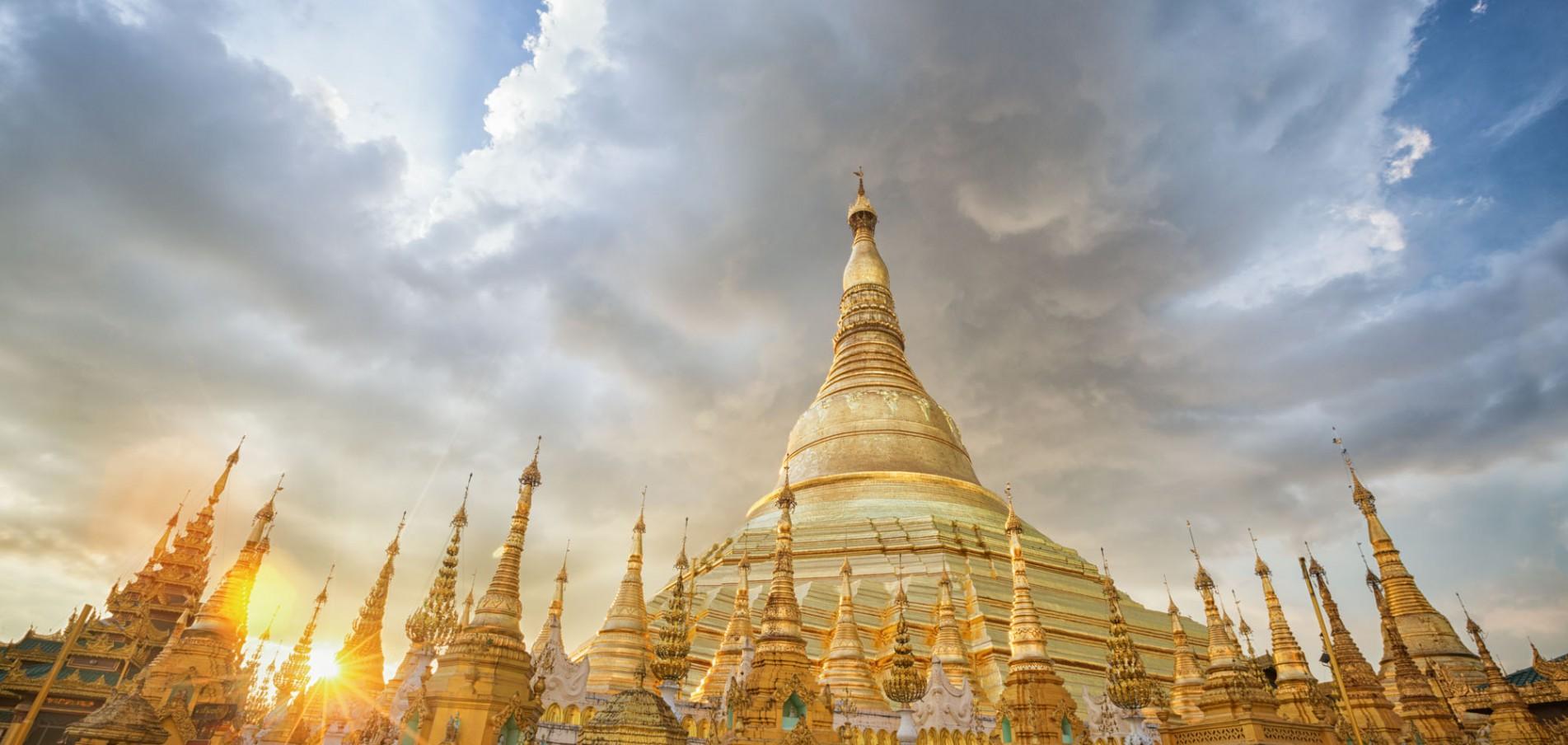 Willkommen in Myanmar ... dem Land der goldenen Pagoden!