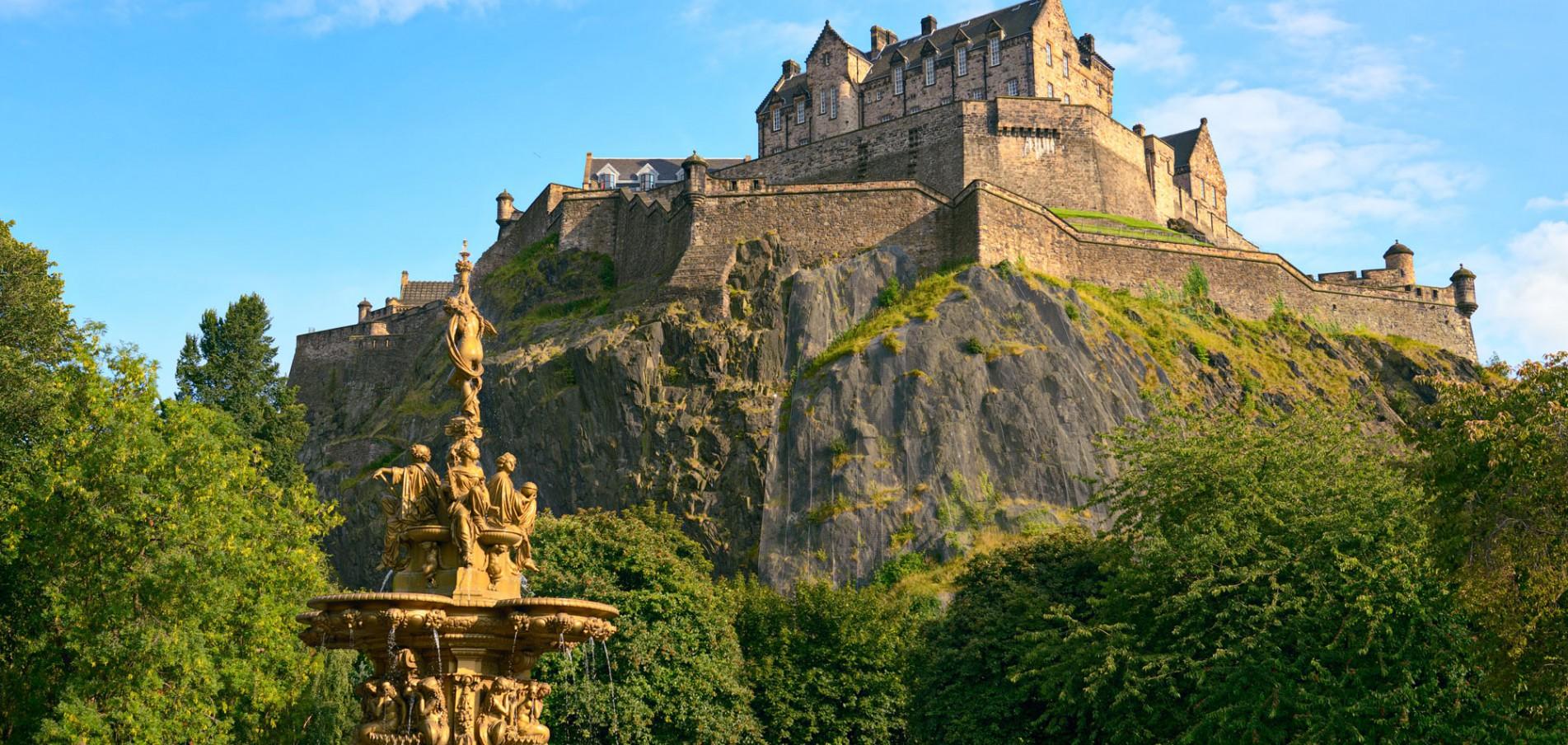 Willkommen in Edinburgh ... Kilt, Kult und Highland-Games!