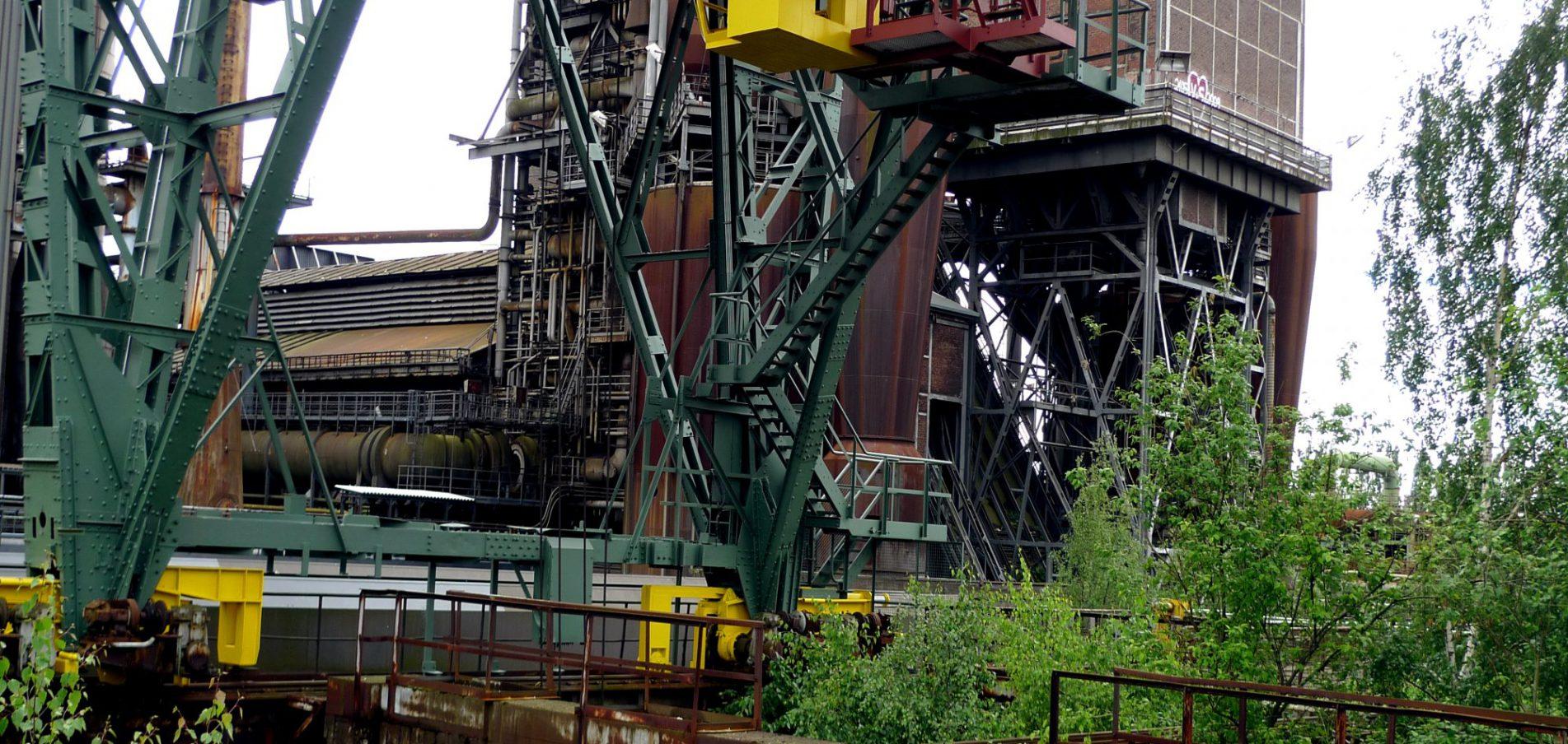 Willkommen in Duisburg ...Wasser, Stahl und Wandel!