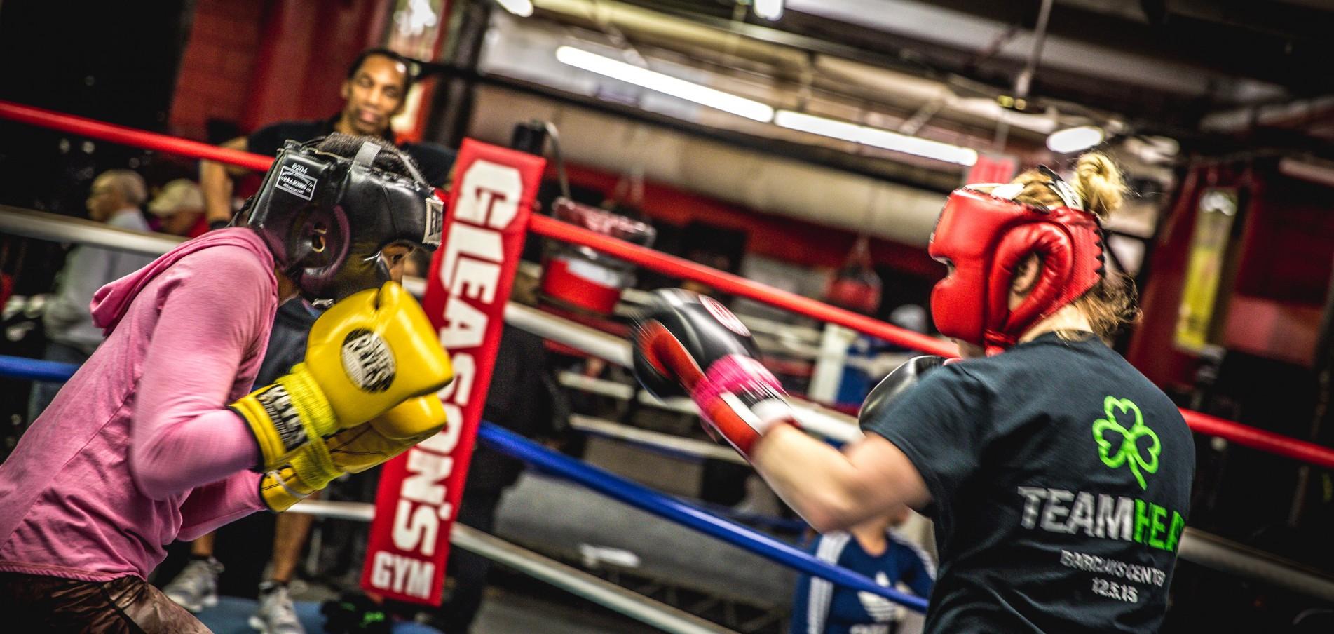 Kick me! Auf den Spuren von Rocky – Boxen in der Bronx.