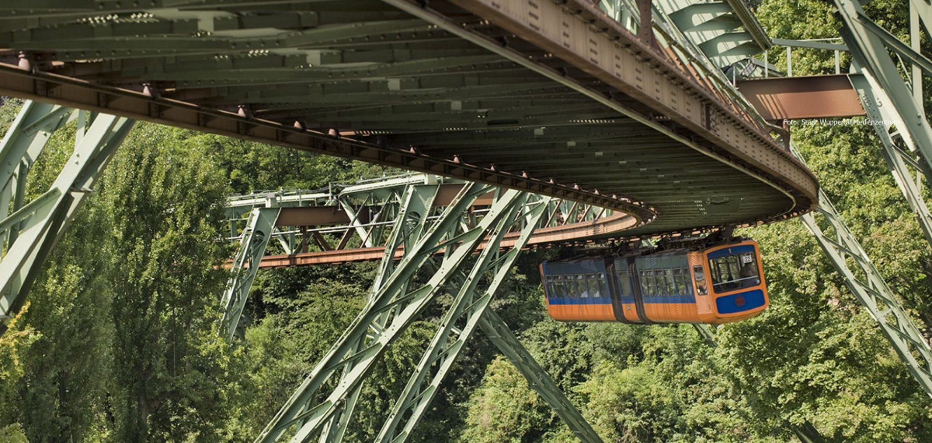 Willkommen in Wuppertal ...Deutschlands grünster Großstadt!